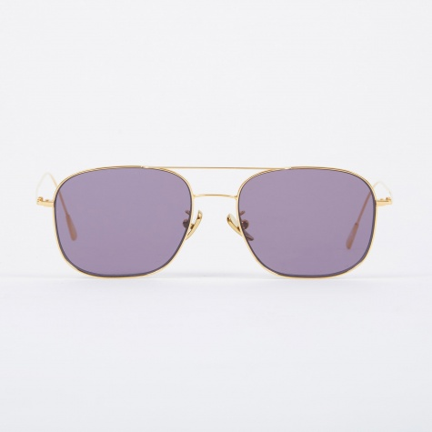1267 Sunglasses - Gold Plated/Pale Purple