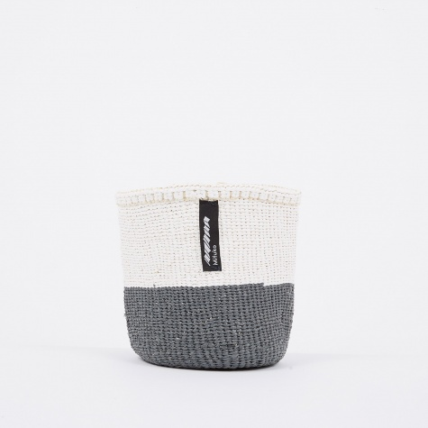 Kiondo Basket Extra Small - Grey & White