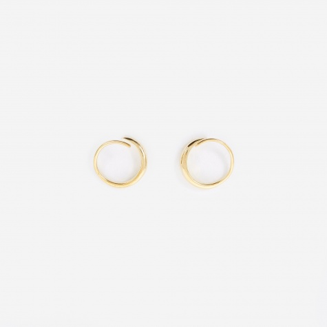 Mini Ear Loop - 9K Gold