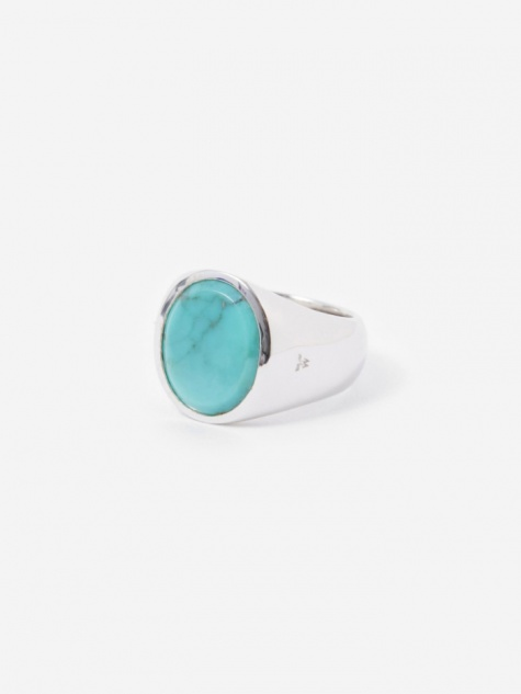 Oval Ring - Turquoise