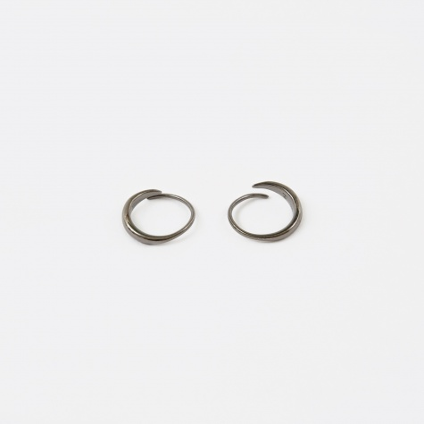 Mini Ear Loop - Silver/Black