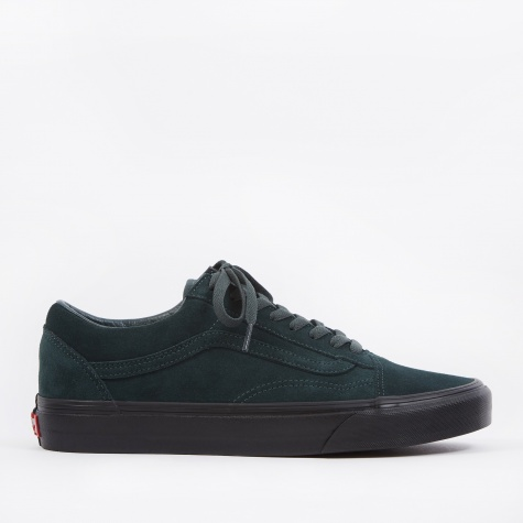 UA Old Skool - (Black Outsole) Darkest Spruce/Black
