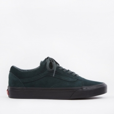 Vans UA Old Skool - (Black Outsole) Darkest Spruce/Black
