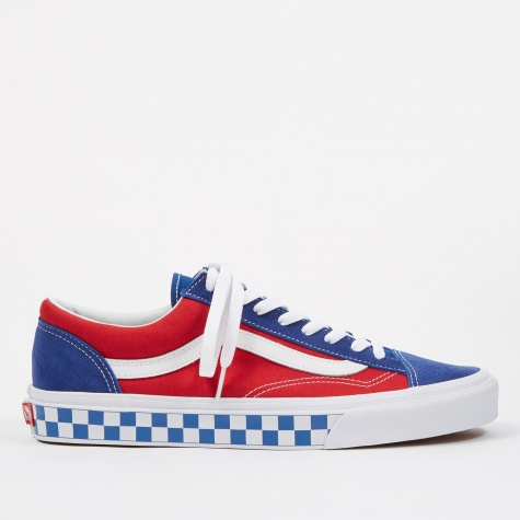 UA Style 36 - (BMX Checkerboard) True Blue/Red