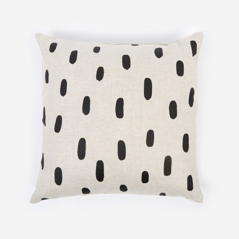 Brushstroke Linen Pillow