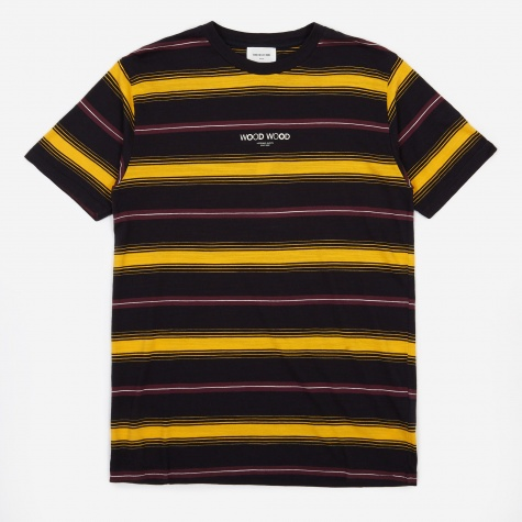 Perry T-Shirt - Yellow Stripe