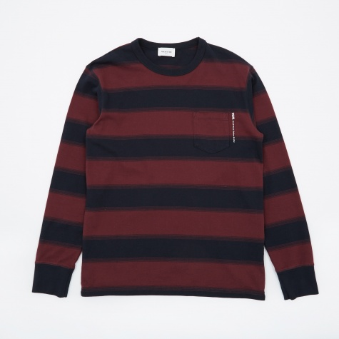 Lui Long Sleeve T-Shirt - Navy Stripe