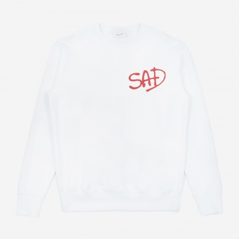 Hugh Sweatshirt - Bright White