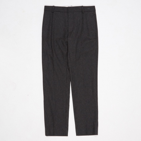 Temple Trouser - Dark Grey Melange