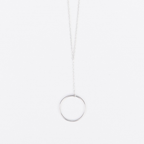 Norma Mini Necklace - High Polished Silver