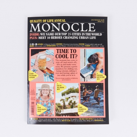 Monocle - Issue 115 (July/Aug 2018)