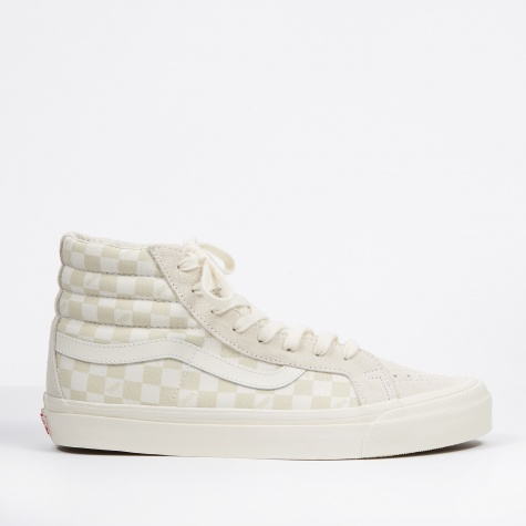 UA OG SK8-Hi LX - (Suede/Canvas) Checkerboard/Marshmallow