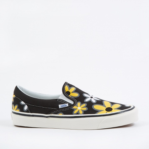 UA Classic Slip-On 98 DX - Anaheim Factory OG Black/Flower