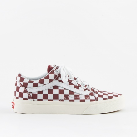 UA Old Skool - (Checkerboard) Port Royale/Marshmallow