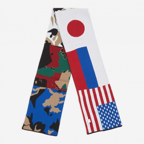 Flag Scarf - Combo