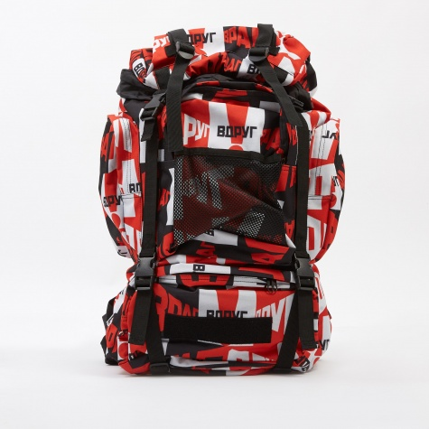 Medium Graphic Backpack - Red