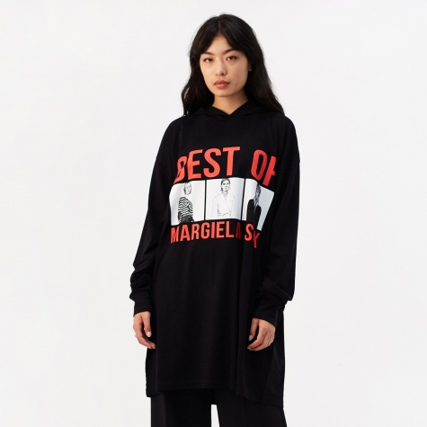 Basic Jersey 'Best Of Margiela' Hooded Top
