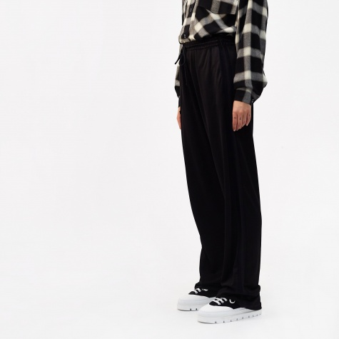 Viscose Sweatshirt Track Pant - Black
