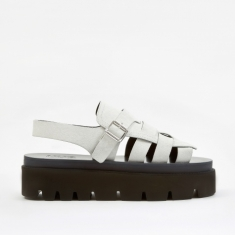 MM6 Maison Margiela Strap Sandals - White