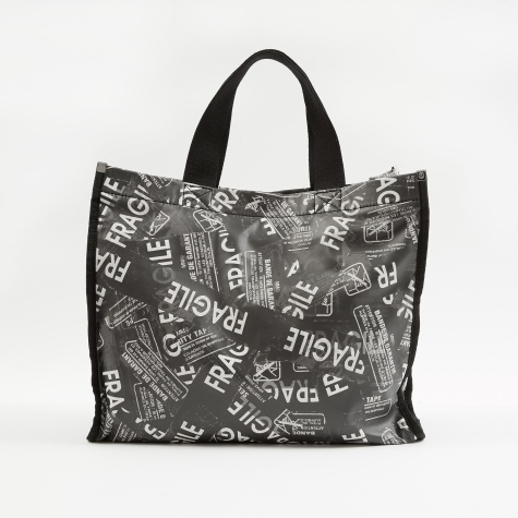 Large Graphic Bag - Black/White