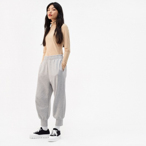 Cuffed Sweatpant - Grey Melange