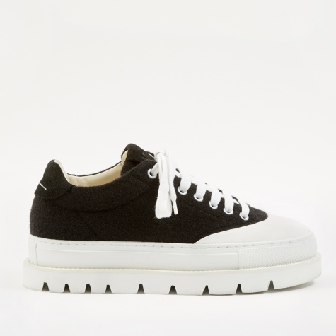 Chunky Sneaker - Black/Bright White