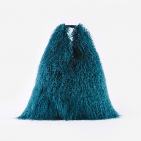 Furry Bag - Green