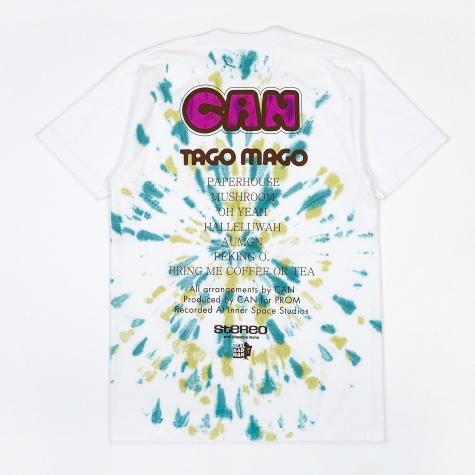 TAGO TD Short Sleeve T-Shirt - White/Purple