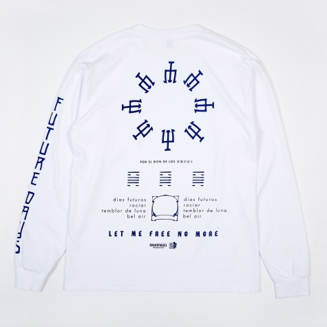 FU Days Long Sleeve T-Shirt - White