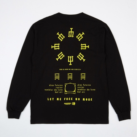 FU Days Long Sleeve T-Shirt - Black
