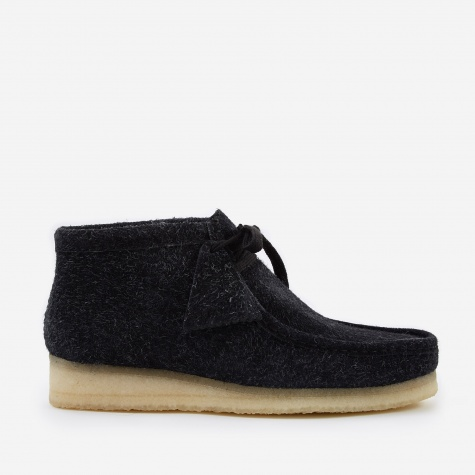 Clarks Wallabee Boot - Black Interest