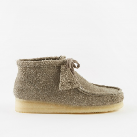 Clarks Wallabee Boot - Grey Interest