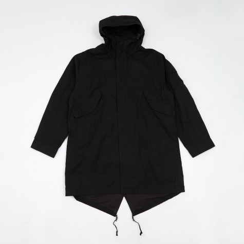 Scottish Wax Parka - Black