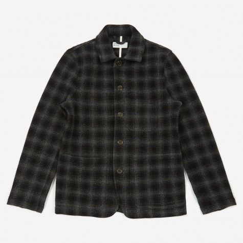 Bakers Chore Jacket - Charcoal Check