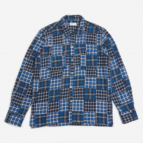 Garage Shirt II - Patchwork Blue