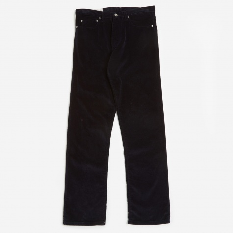 Brisbane Cord Trouser - Navy