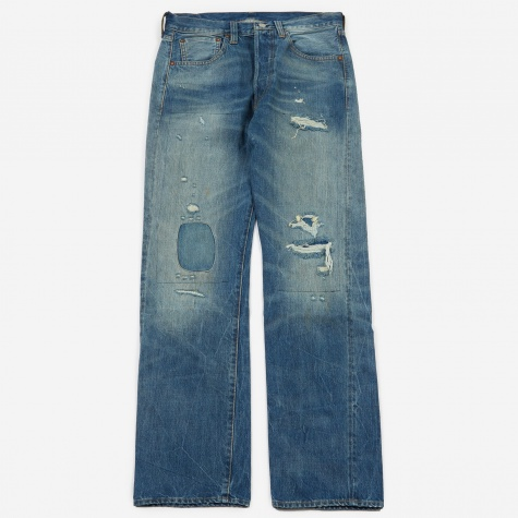 Levi's Vintage Clothing 1947 501 Jeans - Tear Up