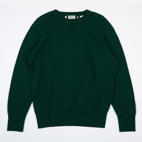 Levi's Vintage Clothing Bay Meadows Sweatshirt - Bottle Green