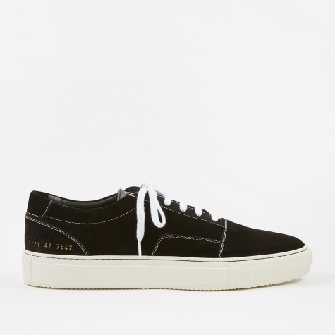 Skate Low Suede - Black