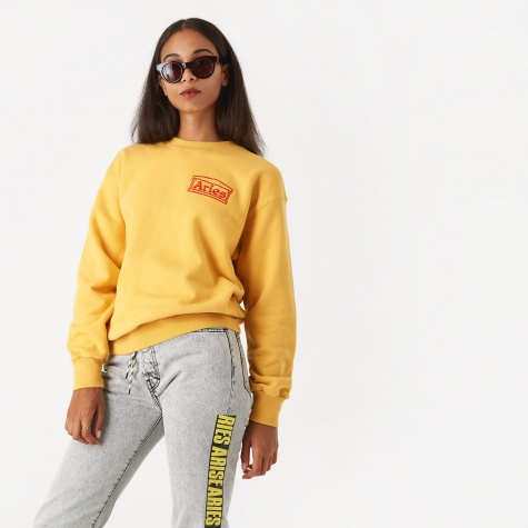 Crewneck Logo Sweatshirt - Yellow