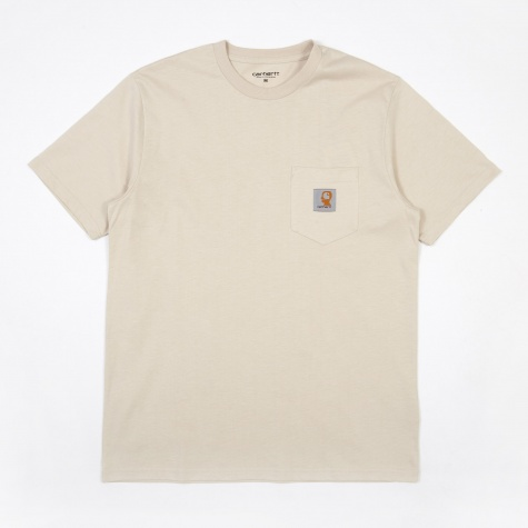x Carhartt Anti Vital SS Pocket T-Shirt - Beige