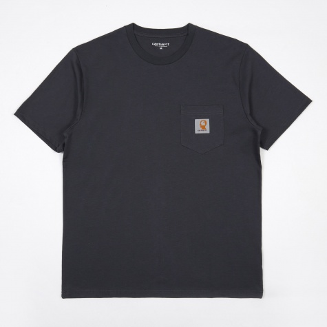 x Carhartt Anti Vital SS Pocket T-Shirt - Graphite
