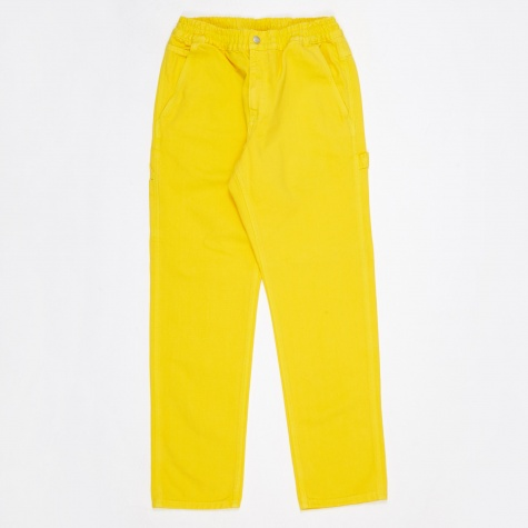 x Carhartt Beach Carpenter Trouser - Lemon