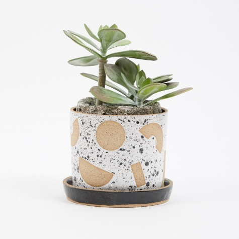Negative Rocks Planter
