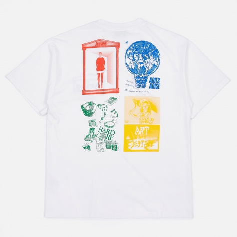 Graphic Four Squares T-Shirt - White