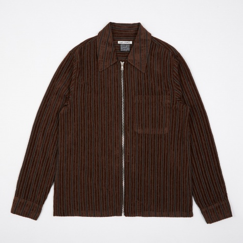 Drip Shirt - Multi Brown Corduroy