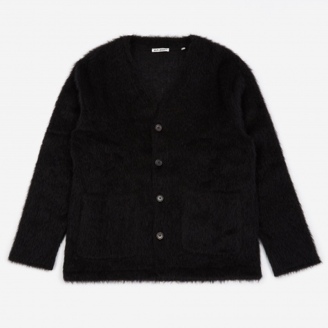 Mohair Cardigan - Black