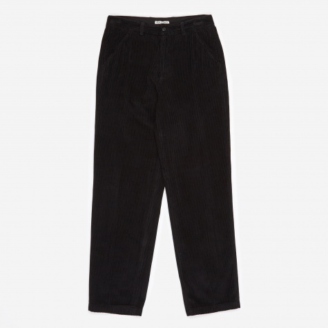 Corduroy Trouser - Washed Black