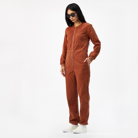 Finlay Corduroy Boilersuit - Chestnut