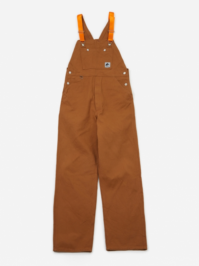 Flagstuff Overalls - Brown (Image 1)